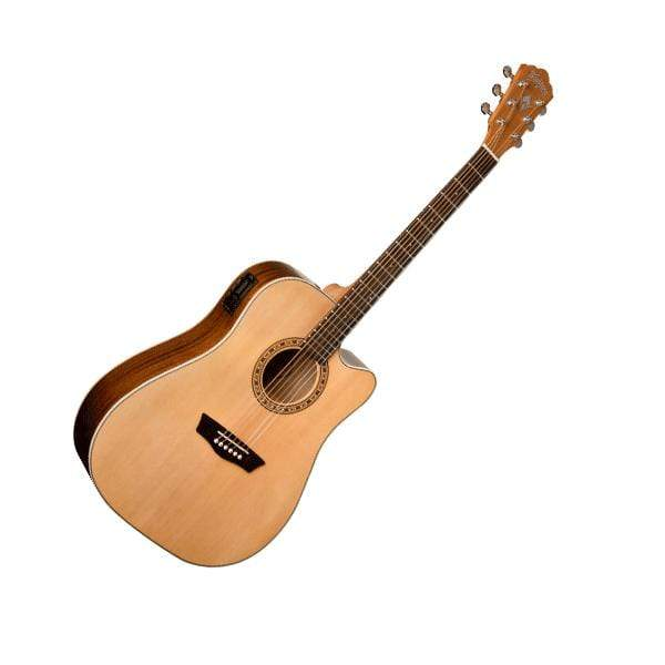Washburn Guitars Semi-Acoustic Guitar Washburn WD7SCE Semi Acoustic Guitar