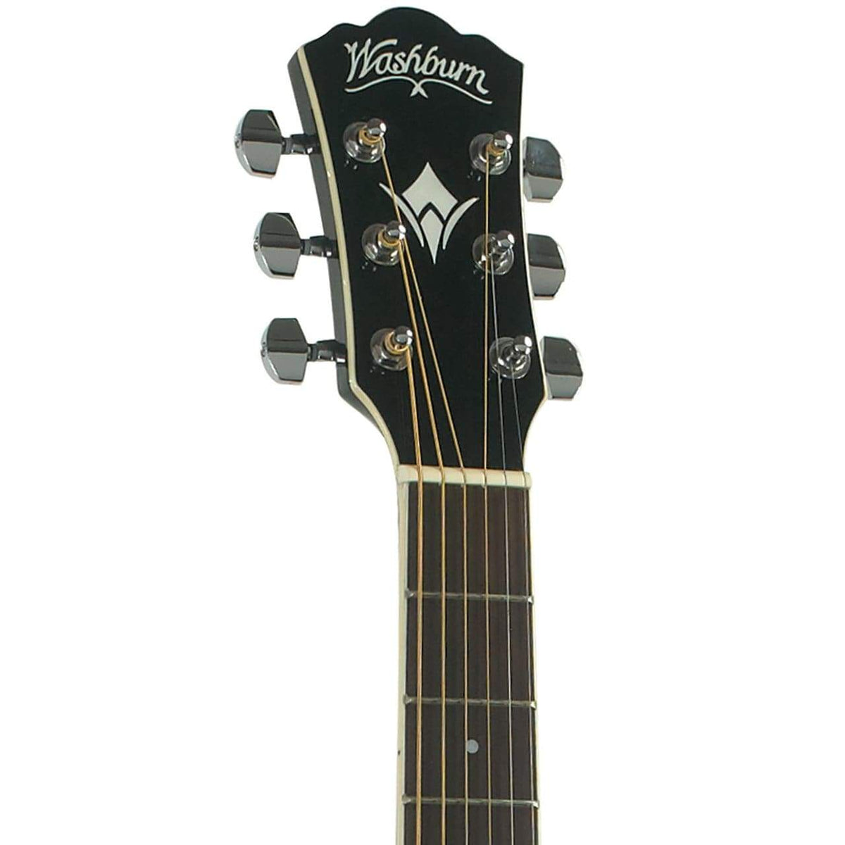 Washburn EA10B Festival Series Semi-Acoustic Guitar - Black