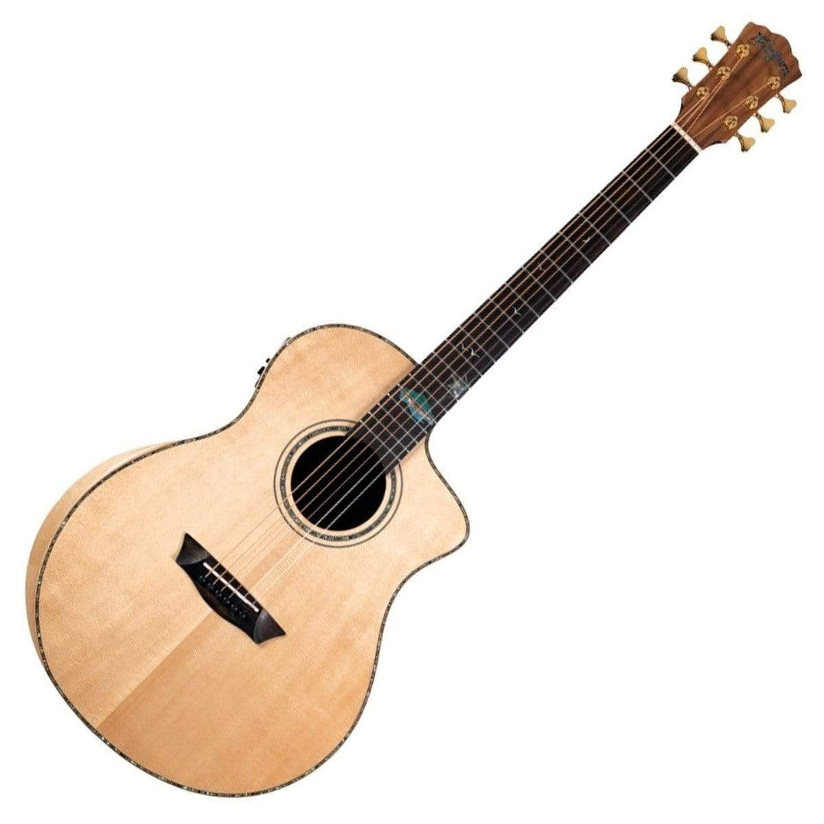 Washburn BTSC56S Bella Tono Allure Semi-Acoustic Guitar - Gloss Natural