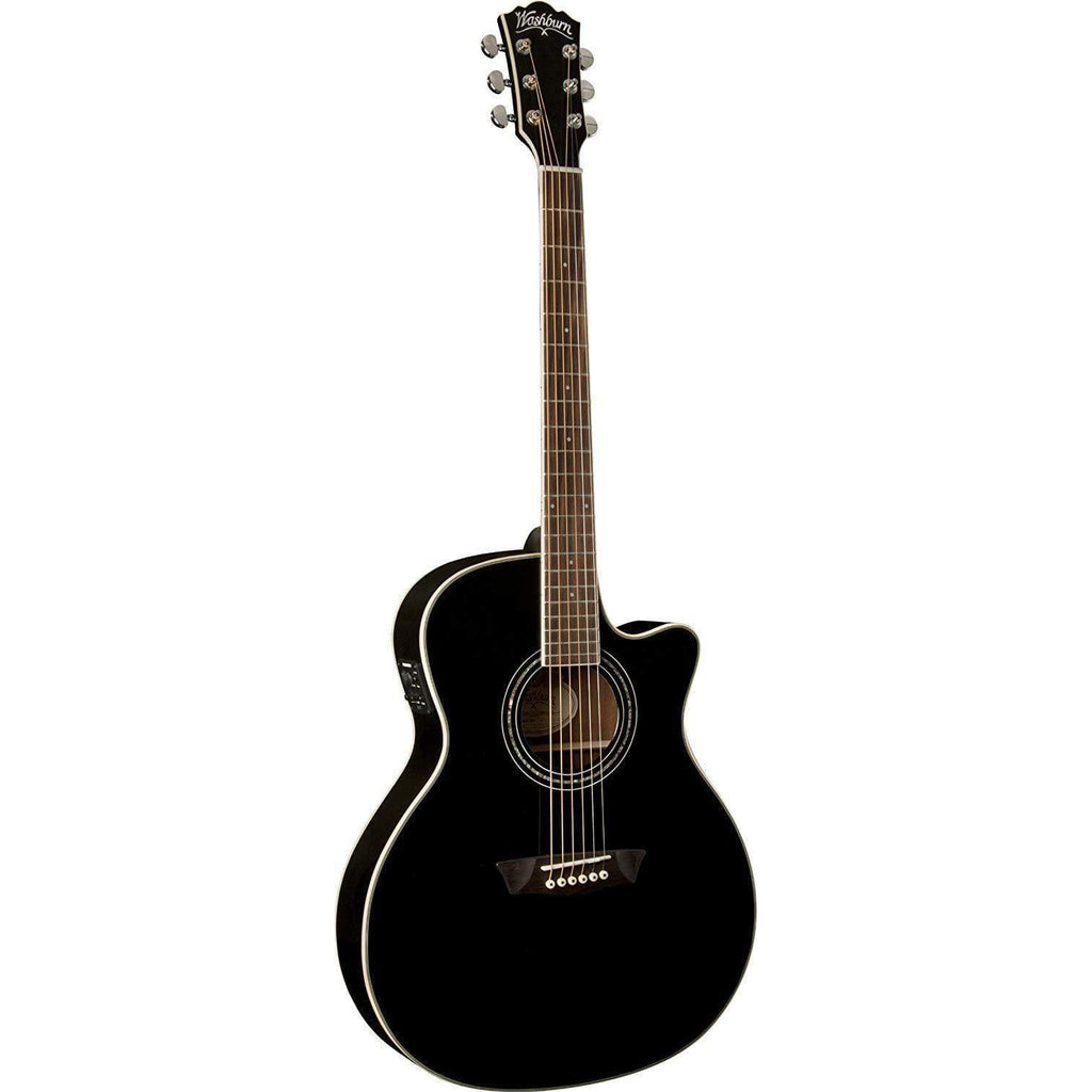 Washburn Semi-Acoustic Guitar Washburn WCG18CEB Semi Acoustic Guitar