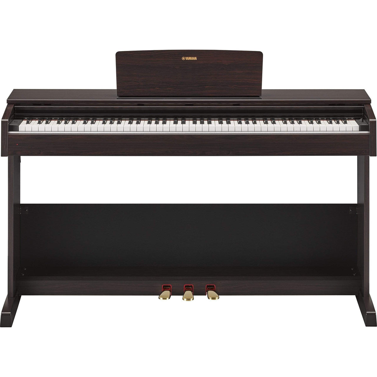 Yamaha YDP-103 Digital Piano w/ Power Adaptor & Bench - (Black/Rosewood)