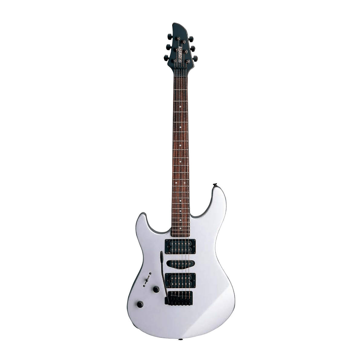 Yamaha RGX121ZL FS Left-Handed Electric Guitar - (Flat Silver/Black)
