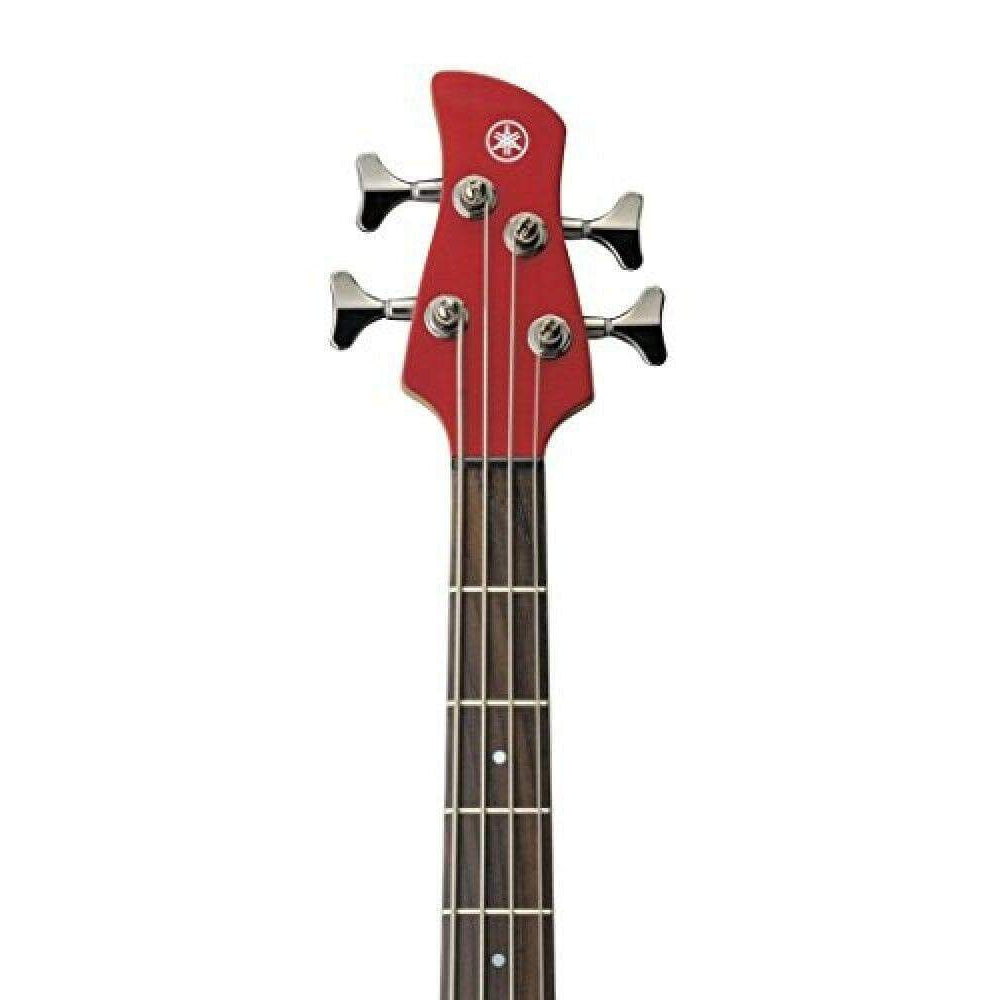 Yamaha TRBX304 4-String Bass Guitar - (Black/Candy Apple Red/White)