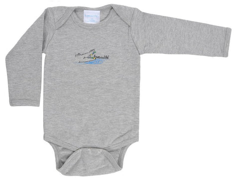 "T-LTL KID ""Chomp the Gator"" Onesie Long Sleeve"