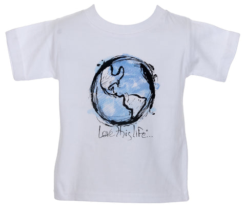 "T-LTL KID ""Earth"" Organic Toddler Tee"