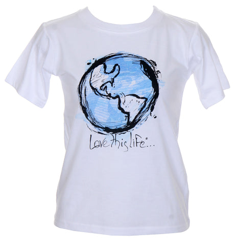 "T-LTL KID ""Earth"" Organic Youth Tee"