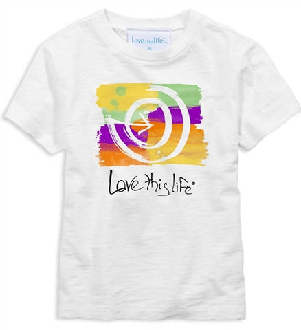 "T-LTL KID ""2 Paths Graffiti Manifesto"" Toddler Tee"