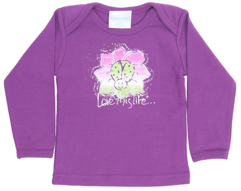 "T-LTL KID ""Lady the Ladybug"" Lap Tee Long Sleeve"
