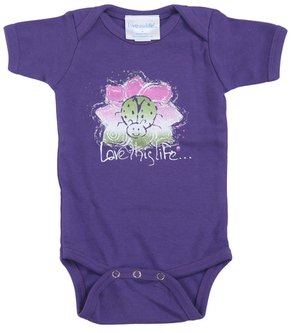 "T-LTL KID ""Lady the Ladybug"" Onesie"
