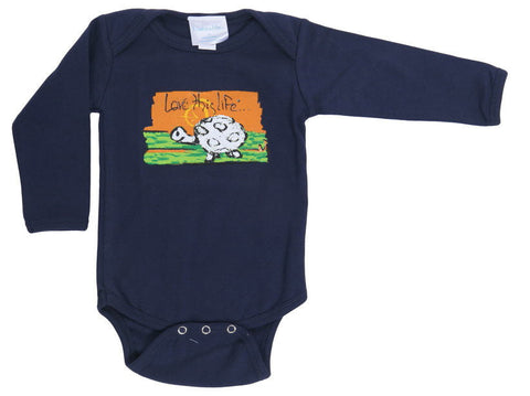 "T-LTL KID ""Scram the Turtle"" Onesie Long Sleeve"
