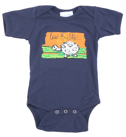 "T-LTL KID ""Scram the Turtle"" Onesie"