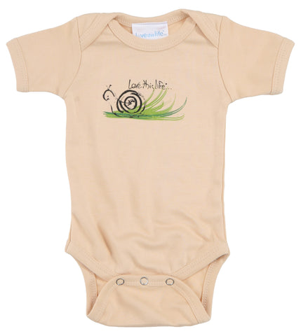 "T-LTL KID ""Speed the Snail"" Onesie"