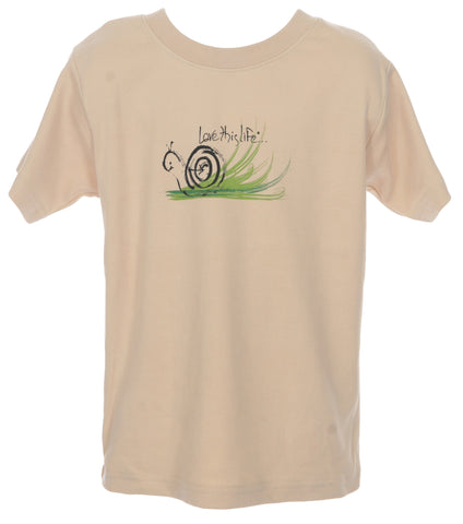 "T-LTL KID ""Speed the Snail"" Toddler Tee"