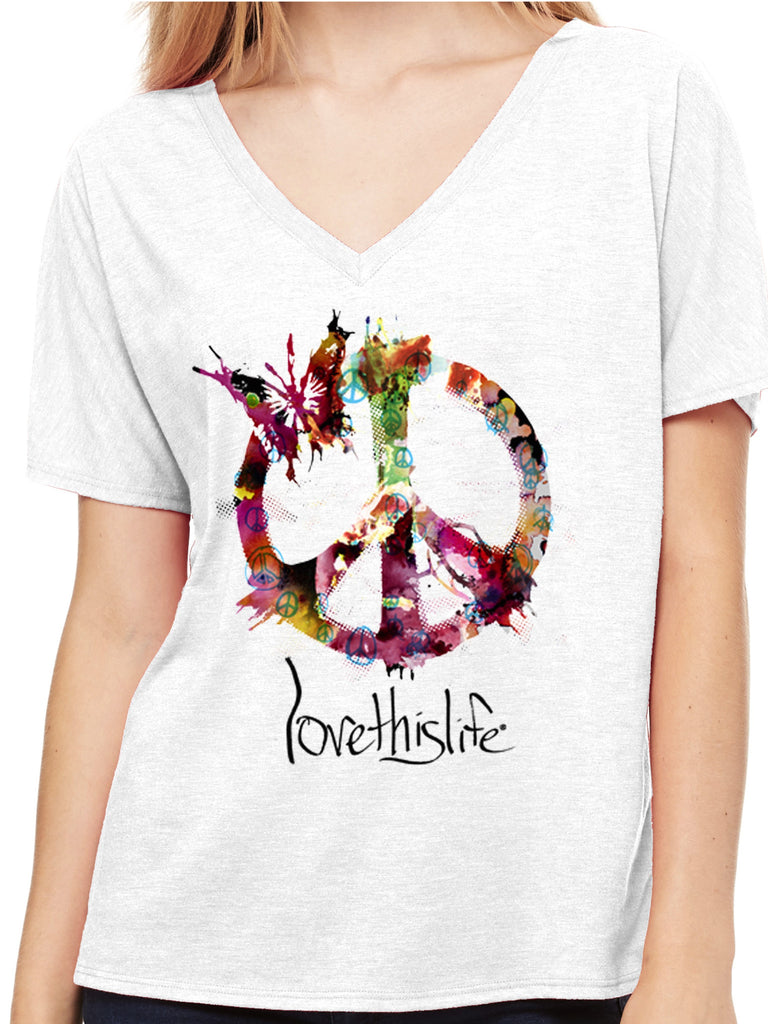 Love This Life Essence Of Peace Manifesto Dolman  (FINAL SALE - No Exchange Or Return) by lovethislife