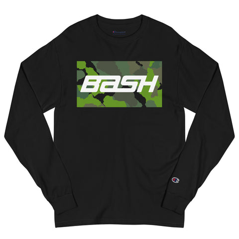 BASH x Champion Long Sleeve - Green Camo - Unisex