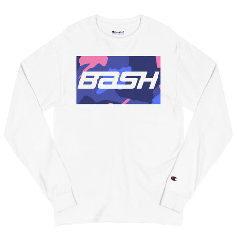 BASH x Champion Long Sleeve - Purple Camo - Unisex