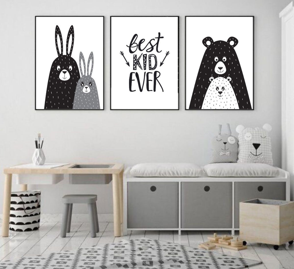 Free wall art prints for your little one:)