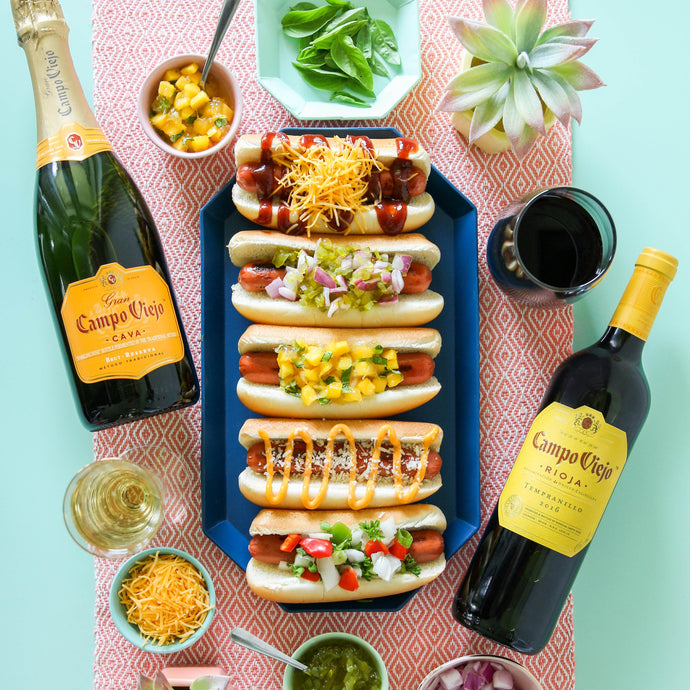 Wine and Hot Dog pairing for your next BBQ