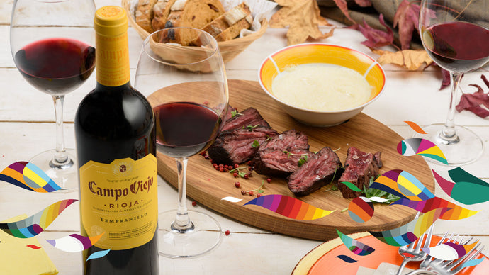 Campo Viejo Recipes - Steak & Polenta