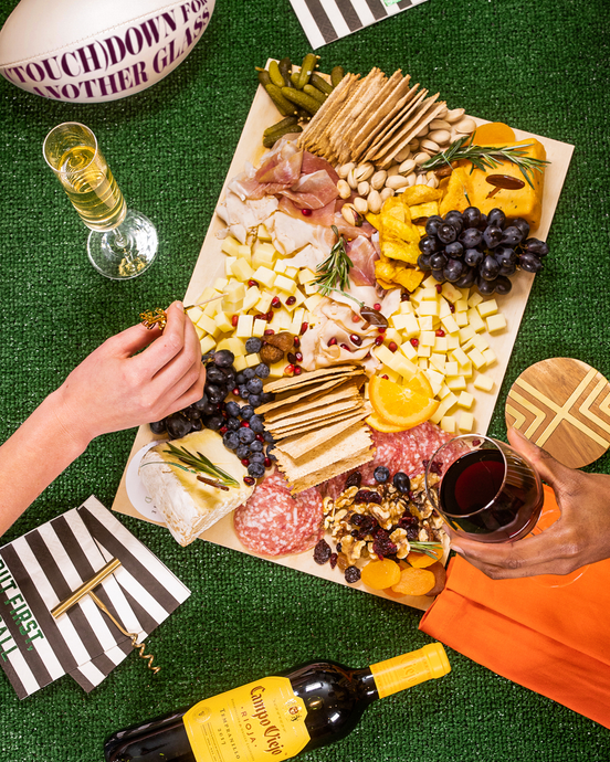 How to Make a Big Game Grazing Board