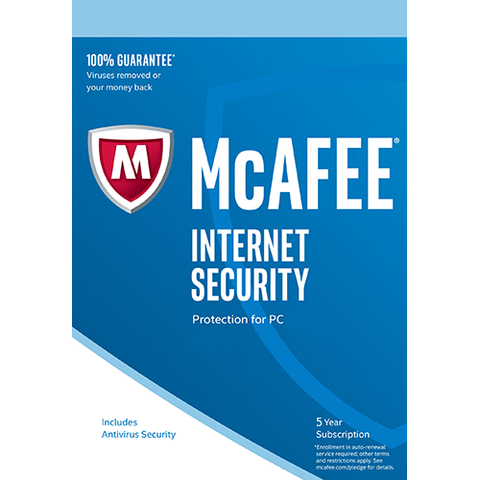 McAfee 5 Years Key