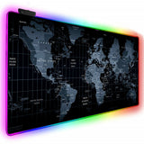 X10 Gaming Mouse Pad- LED World Map