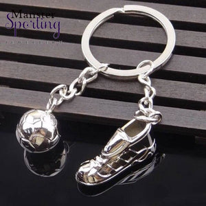 All Team Metal Keychain New Key Chain - Fashion Hot High Quality Soccer Shoes And Football Car Ring