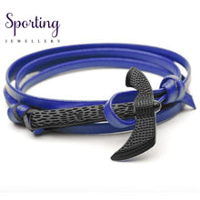 Load image into Gallery viewer, Black Axe Bracelets Blue