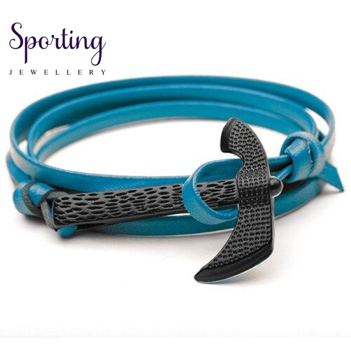 Black Axe Bracelets Skyblue