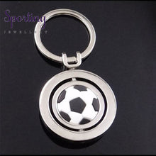 Load image into Gallery viewer, Football Keychain Key Pendant Champions Key Chain Pendant Soccer Metal Ornaments Gifts Best Selling
