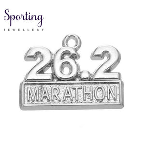 Love To Run Marathon Running Girl Zinc Alloy As Picture 5