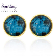 Load image into Gallery viewer, Quality French Shirt Cufflinks For Mens Wholesale Copper Material Silver
