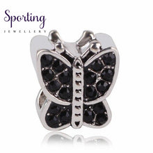 Load image into Gallery viewer, Ranqin 2018New Original Fashion European Charm Black Football Camera Dress Series Fit Pandora Charms