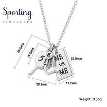 Load image into Gallery viewer, Runner Self-Motivation Marathon Necklaces Style 1