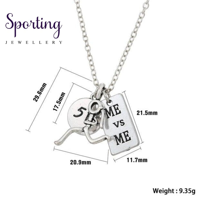 Runner Self-Motivation Marathon Necklaces Style 1