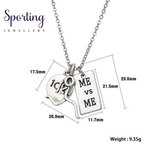 Runner Self-Motivation Marathon Necklaces Style 2