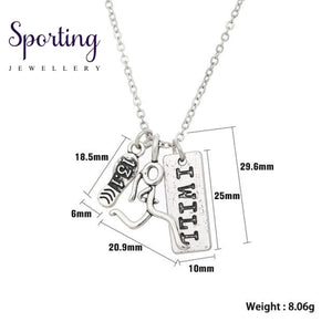 Runner Self-Motivation Marathon Necklaces Style 3