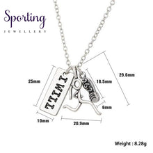Load image into Gallery viewer, Runner Self-Motivation Marathon Necklaces Style 4