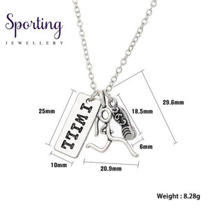 Runner Self-Motivation Marathon Necklaces Style 4