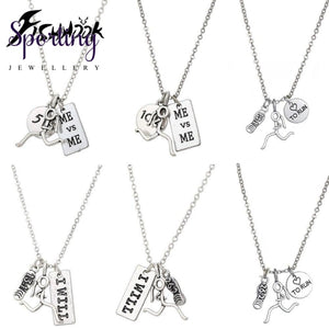 Runner Self-Motivation Marathon Necklaces