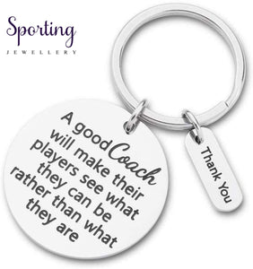 Teachers Coaches Keychain Birthday Gift For Him Her Appreciation Thank You Keyring Jewelry From