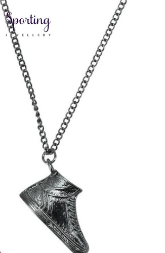 Waking Pendant Necklace Stainless