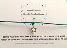 Load image into Gallery viewer, When you wish upon a bracelet - Pirouette Jewellery Designs
