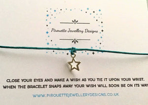 When you wish upon a bracelet - Pirouette Jewellery Designs