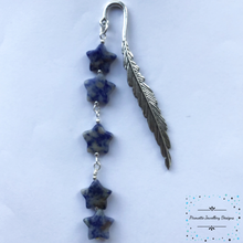 Load image into Gallery viewer, Sodalite Star bookmark - Pirouette Jewellery Designs