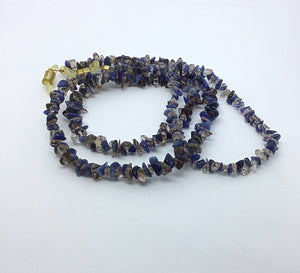Genuine Smokey Quartz and Sodalite Spectacle Chain - Pirouette Jewellery Designs