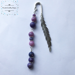 Genuine Purple Opal bookmark - Pirouette Jewellery Designs