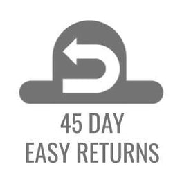 45 Day non hassle returns.