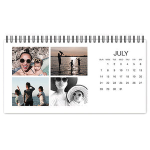 Photo Gallery Desk Calendar(台历)