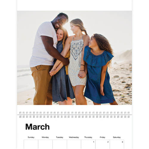 Photo Gallery Wall Calendar(挂历/墙历)